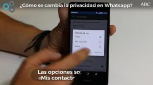 ¿Cómo se cambia la privacidad en Whatsapp?