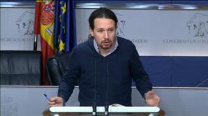 """Pablo Iglesias: """"Los diputados no tienen restringidos sus derechos civiles y pueden participar en movilizaciones"""""""