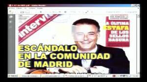 Crespo señala al gobierno de Aguirre de trocear los contratos con la Gürtel para ocultarlos