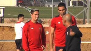 El Sevilla prepara el próximo encuentro frente al Sporting