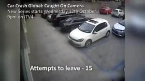 intento aparcamiento fallido