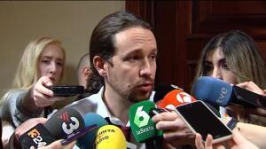 """Iglesias preguntará a Cospedal si """"le constaba"""" que se pagara con dinero B del PP la defensa de implicados en el juicio del Yak42"""