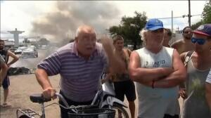 Más de 500 evacuados y diez ciudades sitiadas en Argentina por las inundaciones