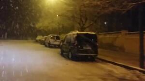 Nieva en Denia (Alicante) por primera vez desde 1983