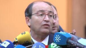 """El presidente del Sevilla, cuestionado por la pancarta del 'Prenda': """"Me parece lamentable que me hagas esa pregunta"""""""