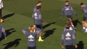 Cristiano Ronaldo se reincorpora a la plantilla