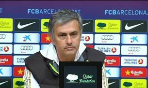 Mourinho felicita al Barça
