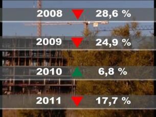 La compraventa de viviendas volvió a caer en 2011