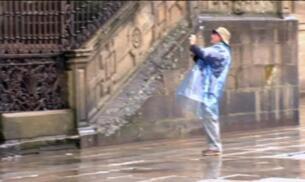 La lluvia llega a Galicia