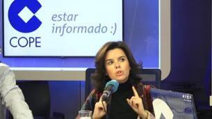 Soraya Sáenz de Santamaría cree que PSOE y PP