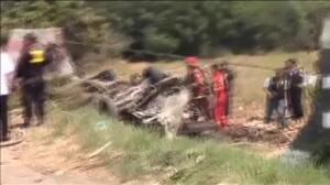 Un accidente en Perú deja al menos 15 muertos