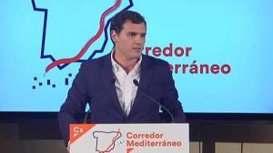 """Albert Rivera: """"Algún presidente que no esté imputado tendrá el PP en Murcia, digo yo"""""""
