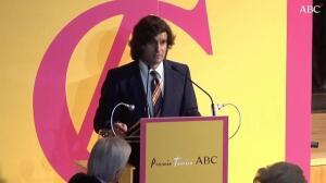 Discurso de Morante de la Puebla en el IX Premio Taurino ABC