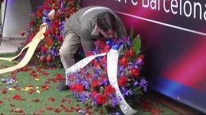 El FC Barcelona rinde homenaje a Muntal