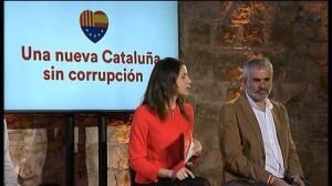 """Ciudadanos se postula como """"oposición libre"""" anticorrupción"""