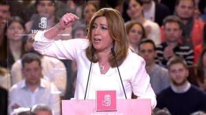 """Susana Díaz: """"Queremos volver a ser lo que fuimos"""""""