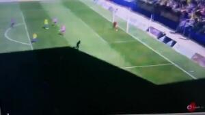 Posible penalti en el Cádiz - Tenerife