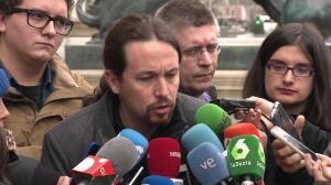 """Iglesias: """"El papel político de Cs es sostener al PP"""""""