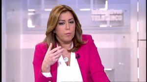 """Susana Díaz: """"Hay que reconocer singularidades. No todos los territorios somos iguales"""""""