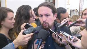 """Iglesias: """"Lo que ataca al decoro es la presencia de la corrupción"""""""