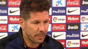 """Simeone sobre las semifinales contra el Madrid: """"Estoy pensando en el Espanyol"""""""