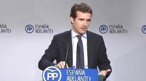PP dice que no han pedido a Aguirre que dimita