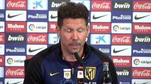 """Simeone: """"Cuando uno se siente fuerte, las piernas siguen al corazón"""""""