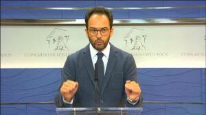 """Antonio Hernando: """"Si Rajoy miente en la comisión de investigación estaría cometiendo un delito"""""""