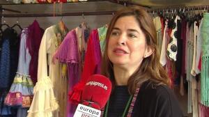 Un traje de flamenca cuesta unos 600 euros de media
