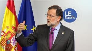 """Rajoy: """"Yo he decidido que no voy a hacer ninguna moción de censura contra Pablo Iglesias"""""""