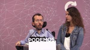 Podemos retirará su moción si el PSOE presenta otra