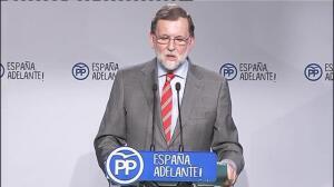"""Rajoy pide a Puigdemont que de explicaciones en el Congreso de por qué """"amenaza y chantajea"""" al Estado"""