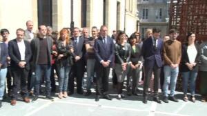 Parlamentarios vascos rechazan el atentado de Manchester