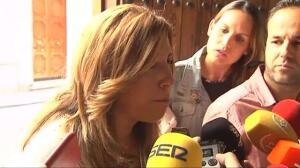 """Susana Díaz: """"Ya todos estamos con Pedro, se acabaron los bandos"""""""