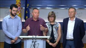 """Compromís pide a Podemos que """"retrase"""" la moción de censura para esperar al PSOE"""