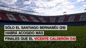 La final de Copa despide al Calderón
