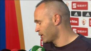 """Iniesta: """"Seguimos ganando, seguimos consiguiendo títulos"""""""