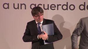 Puigdemont fijará la fecha y pregunta del referéndum