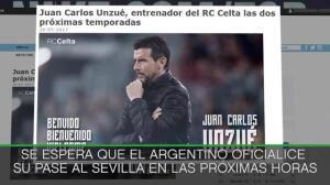 Unzué, nuevo entrenador del Celta