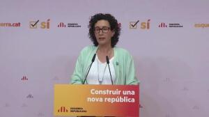 ERC pide al Govern fecha y pregunta del referéndum