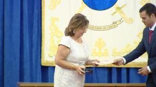 Esperanza Aguirre e Ignacio Echeverría, condecorados por la Asociación Dignidad y Justicia