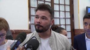 """ERC sugiere que el PP ha """"comprado el silencio"""" de Bárcenas"""