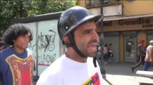 La policía abate a tiros a un joven en la última manifestación contra Maduro