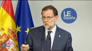 """Rajoy dice que está dispuesto a hablar con Sánchez cuando """"lo desee"""""""