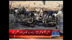 Más de 120 muertos en la explosión de un camión cisterna en Pakistán