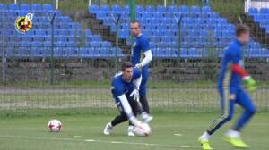La selección española sub 21 entrena antes de viajar a Cracovia