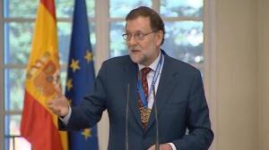 """Rajoy: """"Ganar a Francia es una doble satisfacción"""""""