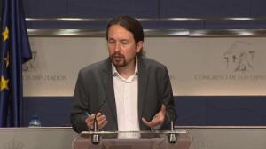 Podemos quiere convencer al PSOE para la moción