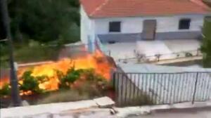 Un camión recorre varios kilómetros envuelto en llamas