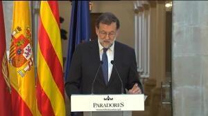 Rajoy apela en Catalunya al sentido común